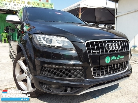 2011 AUDI Q7 3.0TFSI QUATTRO AIR SUSPENSION FREE WARRANTY