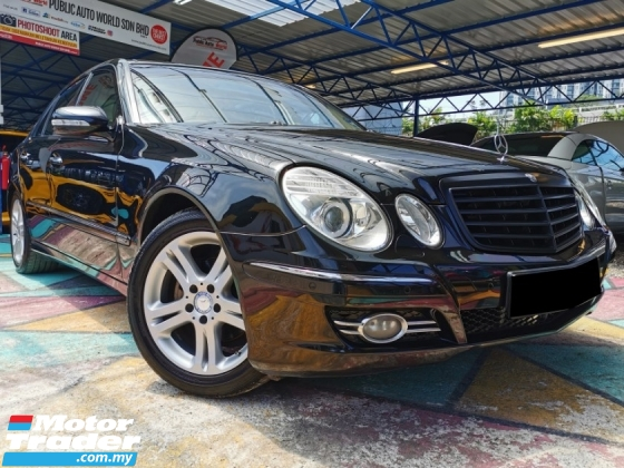 2008 MERCEDES-BENZ E-CLASS Mercedes Benz E230 AVANTGARDE 2.5 F/SPEC PANORAMIC