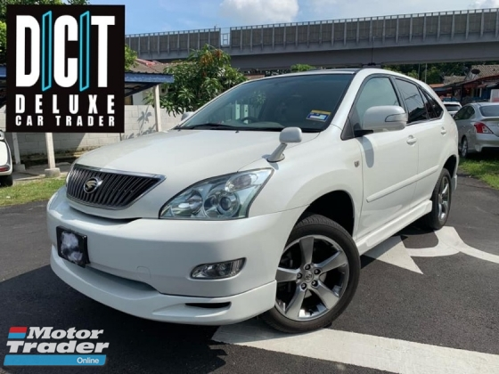 2007 TOYOTA HARRIER 240G PREMIUM LIMITED HIGH SPEC 1 OWNER VVIP