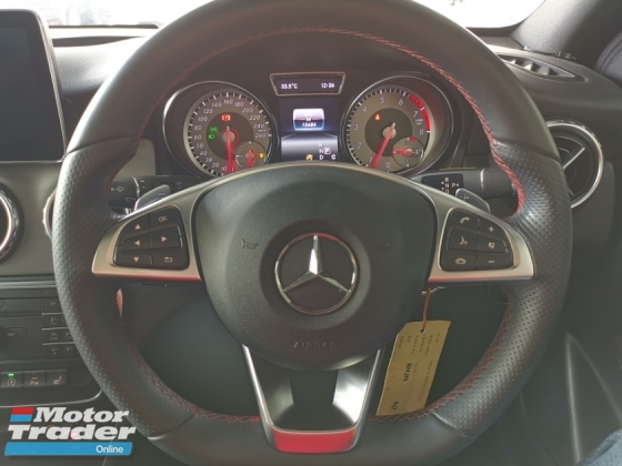2016 MERCEDES-BENZ GLA 180 AMG PANROOF KEYLESS BLACK OFFER RAYA UNREG