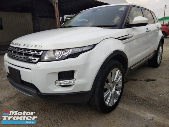 2014 LAND ROVER EVOQUE 2.0 1year warranty