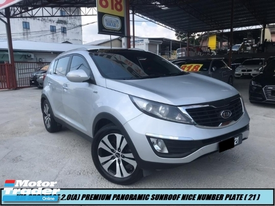 2013 KIA SPORTAGE 2.0 DOHC PREMIUM PANORAMIC SUNROOF HIGH SPEC LOW MILEAGE ONE OWNER NICE NUMBER PLATE