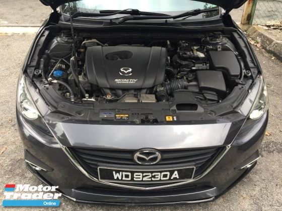 2016 MAZDA 3 2016 MAZDA 3 SKYACTIV 2.0 (A) FULL SERVICE RECORD HIGH SPEC