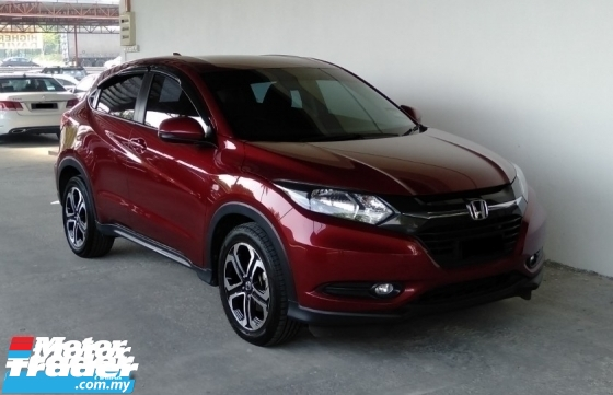 2018 HONDA HR-V 1.8 i-VTEC (A) Genuine Mileage Manufactured Warranty