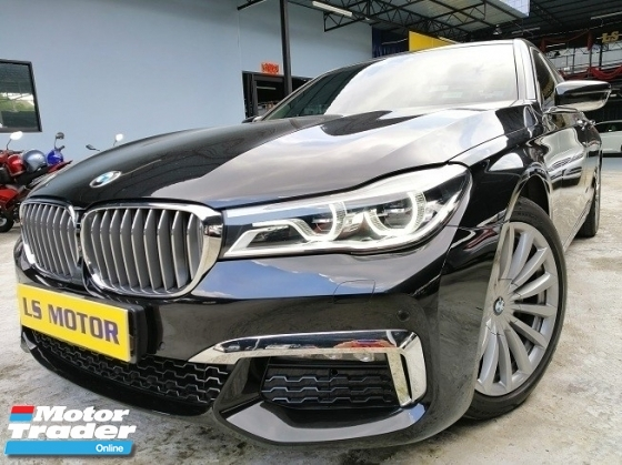 2016 BMW 7 SERIES 730LI 2.0 AUTO -CKD BRAND NEW AUTO BAVARIA - FULL SERVICE BMW - REAR ENTERTAINMENT - PANAROMIC ROOF - 1VVIP OWNER - NEW CAR CONDITION- VIEW TO BELIEVE - FULL LOAN...