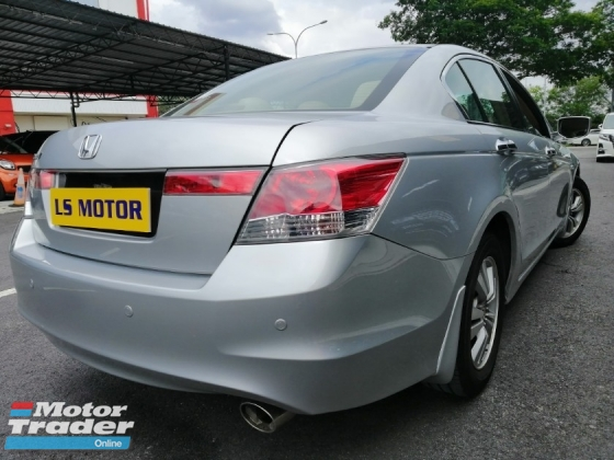 2008 HONDA ACCORD 2.0 VTI-L AUTO -1LADY OWNER - ACC FREE - FULL SERVICE HONDA - RON97 PETROL USER- 4 NEW TYRE - MAINTAIN BY HONDA MAL - FULL LOAN -RM0 D.PAYMENT......