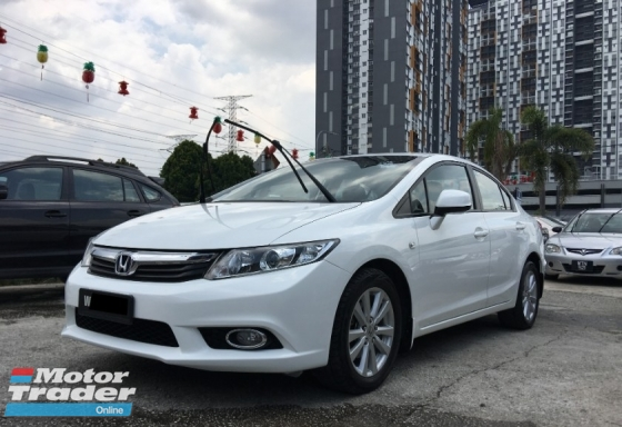 2014 HONDA CIVIC 1.8 S (A) FULL SERVICE RECORD ** HIGH LOAN AVAILABLE ** SPECIAL PROMOTION **