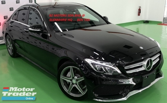 2015 MERCEDES-BENZ C-CLASS 2015 MERCEDES C200 2.0 AMG SPEC ORIGINAL FROM JAPAN UNREG CAR SELLING PRICE ( RM 195,000.00 NEGO )