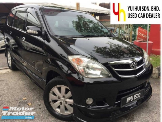 2007 TOYOTA AVANZA TOYOTA AVANZA 1.5 G MPV (A) FULL SPEC 1 GOOD OWNER