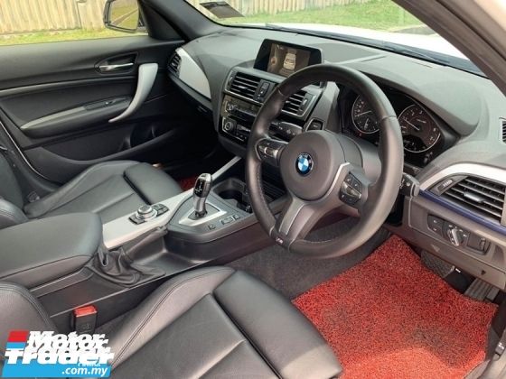 2017 BMW 1 SERIES 118I SPORT LOCAL FACELFIT UNDER WARRANTY UNTIL 2022 DEMO CAR UNIT