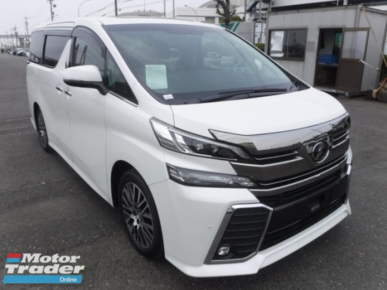 2016 TOYOTA VELLFIRE 2.5ZG Edition FULLY LOADED SUNROOF PRE CRASH JBL 4 CAMERA