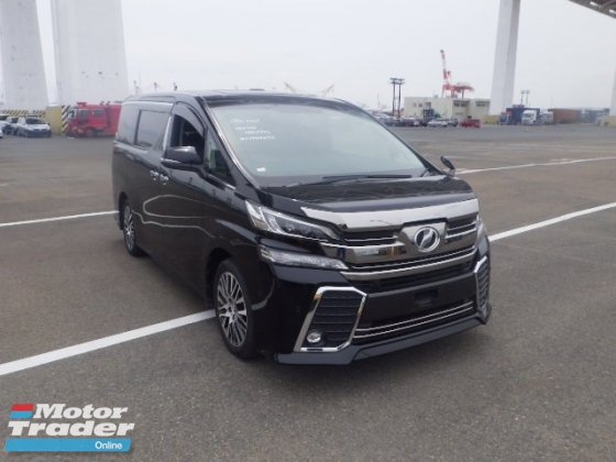 2016 TOYOTA VELLFIRE 2.5ZG Edition SUNROOF JBL FULL LEATHER