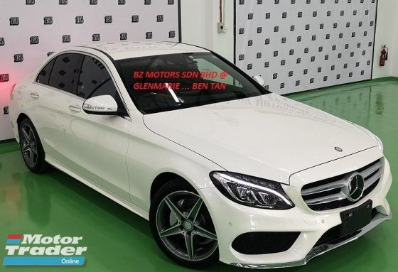 2014 MERCEDES-BENZ C-CLASS 2014 MERCEDES C200 2.0 AMG SPEC ORIGINAL FROM JAPAN UNREG CAR SELLING PRICE ( RM 198,000.00 NEGO )