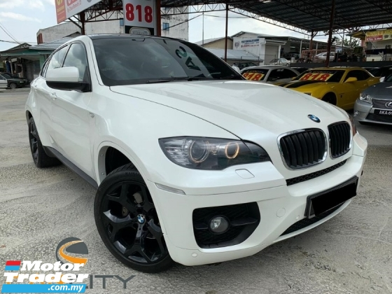 2010 BMW X6 xdrive30d FACELIFT I-DRIVE ELECTRIC SEAT LEATHER SEAT ONE OWNER WARRANTY 1 YEAR