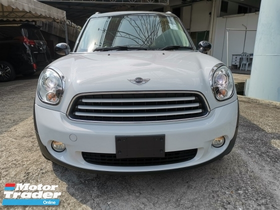 2014 MINI Countryman 1.6 CROSSOVER UNREGISTER 1 YEAR WARRANTY