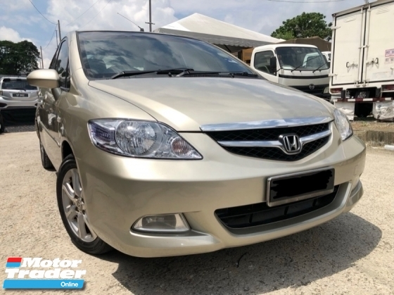 2007 HONDA CITY 1.5 VTEC,Low Mileage,Nice Paint,Accident Free,One Owner