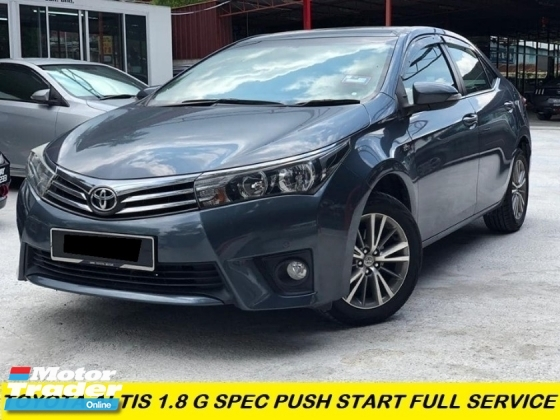 2017 TOYOTA ALTIS 1.8G FACELIFT FULL SERVISE TOYOYA RECORD SUPER LOW MILAGE FULL LEATHER REVERSE CAMERA CONDITION LIKE DEMO CAR UNIT