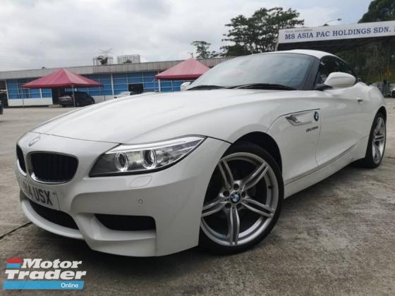 2014 BMW Z4 S 2.0 (A) Twin Turbo 8 Speed MSport RAYA OFFER!