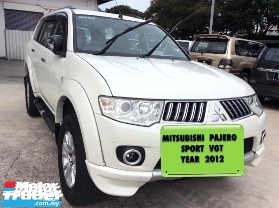 2012 MITSUBISHI PAJERO Mitsubishi Pajero Sport VGT Year 2012