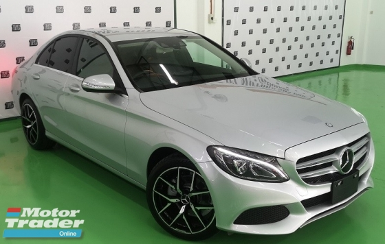 2015 MERCEDES-BENZ C-CLASS 2015 MERCEDES C200 1.6.SE SPEC ORIGINAL FROM JAPAN UNREG CAR SELLING PRICE ( RM 164,000.00 NEGO )