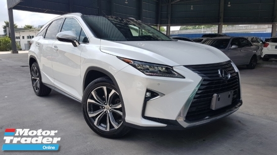 2016 LEXUS RX 2016 Lexus RX200 Version L Sun Roof BSM Pre Crash LTA Head Up Display Power Boot Electric Seat Full Leather Unregister for sale