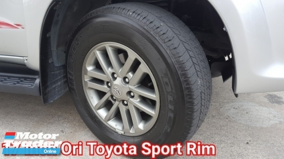 2016 TOYOTA FORTUNER (CKD) 4WD 2.7V (A) Facelift (Petrol) Confirm Ori Paint Ori Mileage Full Service By Toyota Super Condition No Off Road Drive Worth Buy