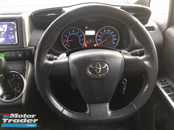 2010 TOYOTA WISH 1.8S SPORTY, REGISTER 2013, FULL BODYKIT, NICE RIM, PADDLE SHIFT, BLACK INTERIOR, KUALITI TERBAIK, PROMO JUNE, DEAL SAMPAI JADI