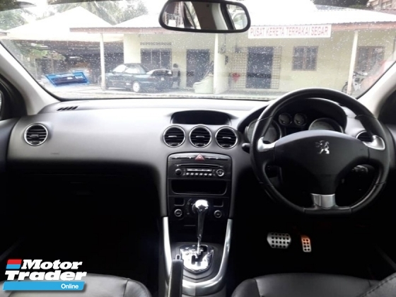 2014 PEUGEOT 408 turbo full service record