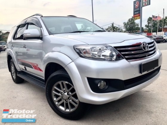 2016 TOYOTA FORTUNER 2.7 V (A) FACELIFT LEATHER 7 SEATER