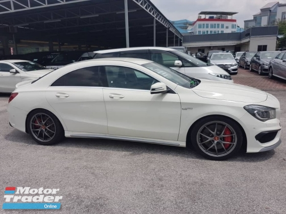 2014 MERCEDES-BENZ CLA 45 2.0 Biturbo 4Matic HarmonKardon