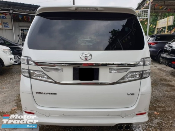 2014 TOYOTA VELLFIRE 3.5V L EDITION FULL SPEC HOME THEATRE PILOT SEAT LEATHER SEAT 2013