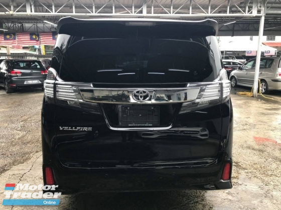 2015 TOYOTA VELLFIRE 2.5 ZG Edition MANY UNIT FOR RAYA PROMOTION LOWEST PRICE IN TOWN PLS CALL ME FOR THE BEST OFFER