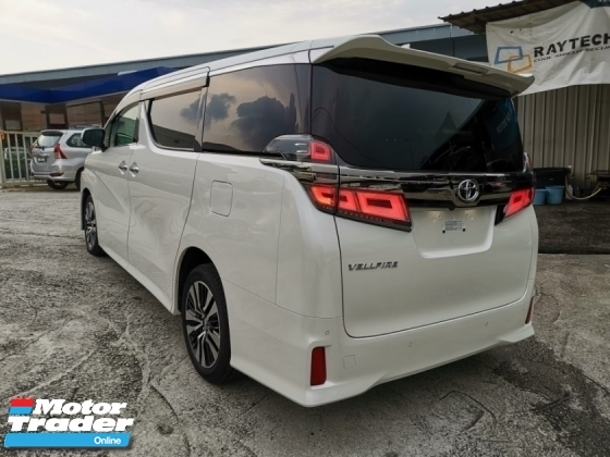 2018 TOYOTA VELLFIRE 2.5 ZG NEW FACELIFT SUN ROOF LEATHER 1 YEAR WARRANTY