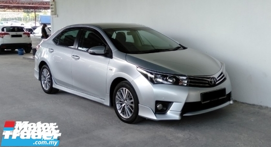 2016 TOYOTA ALTIS 1.8 (A) Sport Bodykit P/Start Facelift Model