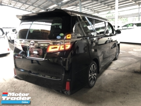 2018 TOYOTA VELLFIRE Unreg Toyota Vellfire ZG Sunroof 2.5 Facelift Pilot 7seather 360view PowerBoot Push Start 7G