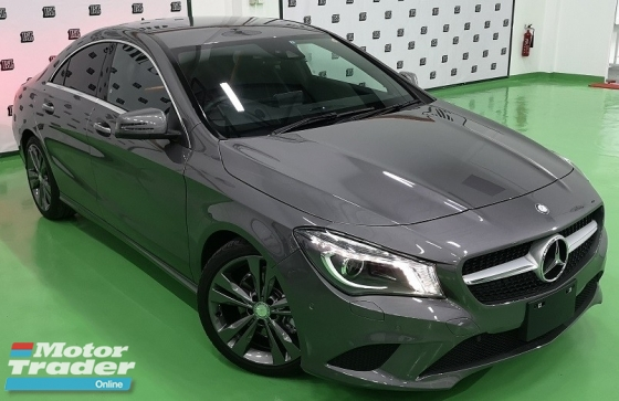2016 MERCEDES-BENZ CLA 2016 MERCEDES BENZ CLA180 1.6 NEW FACELIFT TURBO JAPAN SPEC CAR SELLING PRICE ONLY RM 159,000.00
