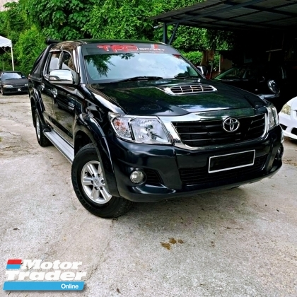 2012 TOYOTA HILUX DOUBLE CAB 3.0G VNT AUTO FACELIFT CITY USE NO OFF ROAD MINT CONDITION