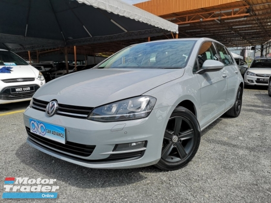 2013 VOLKSWAGEN GOLF 1.4 TSI Turbo Good Condition