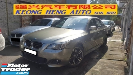 2007 BMW 5 SERIES 525I 2.5cc M-SPORTS (A) REG 2006, CAREFUL OWNER, LOCAL MODEL, 100% ACCIDENT FREE, MILEAGE DONE 101K KM, 18\
