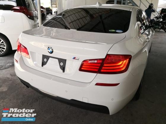2014 BMW 5 SERIES 520i M SPORT JAPAN UNREG