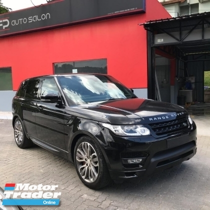 2015 LAND ROVER RANGE ROVER SPORT 5.0 AUTOBIOGRAPHY V8 SUPERCHARGED