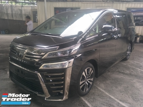 2018 TOYOTA VELLFIRE 2.5 ZG 2 LED HEADLAMPS SUNROOF PRE CRASH STOP SYSTEM MEMORY FULL LEATHER PILOT SEATS