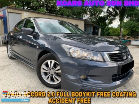 2009 HONDA ACCORD 2.0 VTI FULL B/KIT FREE COATING