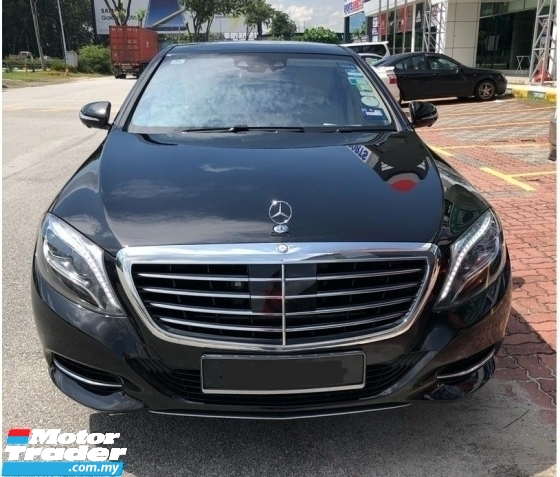 2015 MERCEDES-BENZ S-CLASS S400 L HYBRID CKD LOCAL  SPEC PETROL DEC 2015 GUARANTEE ORIGINAL 39000 KM FULL SERVICE RECORD