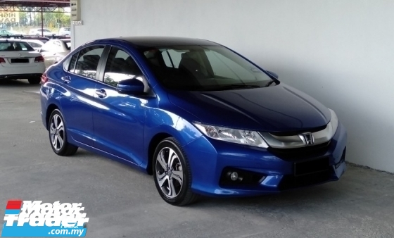 2016 HONDA CITY 1.5 i-VTEC (A) V Spec High Range Facelift Model