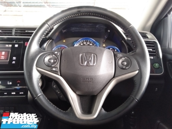 2016 HONDA CITY 1.5 i-VTEC (A) V Spec High Range Facelift Model