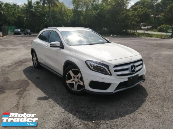 2015 MERCEDES-BENZ GLA 180 AMG JAPAN SPEC UNREGISTERED