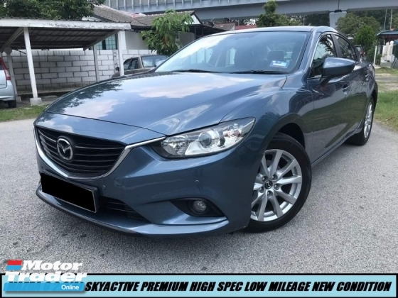2015 MAZDA 6 2.0 SKYACTIVE PREMIUM HIGH SPEC LOW MILEAGE SHOWROOM CONDITION LIKE NEW CAR ONE OWNER