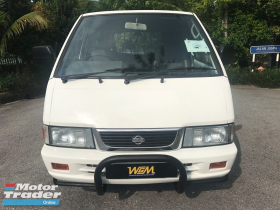 2005 NISSAN VANETTE 1.5 (M) one owner low milage 90k like new