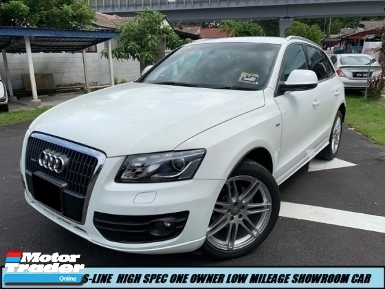 2012 AUDI Q5 2.0 TFSI S-LINE PREMIUM HIGH SPEC ONE OWNER LIKE NEW CAR SHOWROOM CONDITION LOW MILEAGE